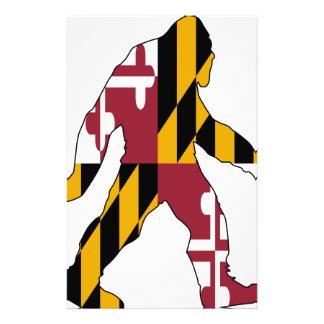 Maryland Bigfoot Stationery