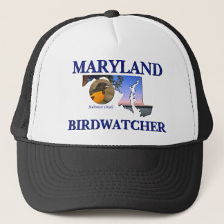 Maryland Birdwatcher Trucker Hat