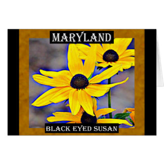 Maryland Black Eyed Susan Card