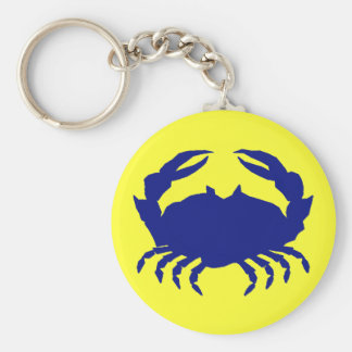 Maryland Blue Crab Key Ring