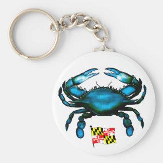 Maryland-Blue Crab Key Ring