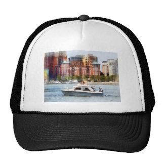 Maryland - Cabin Cruiser by Baltimore Skyline Trucker Hats