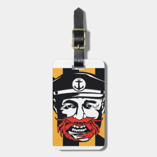 Maryland Captain Crab Luggage Tag