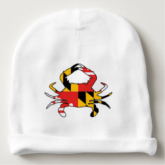 Maryland Crab Baby Beanie