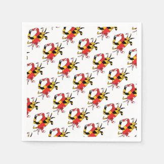 Maryland Crab Disposable Napkins