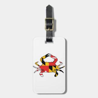 Maryland Crab Luggage Tag