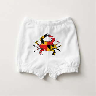 Maryland Crab Nappy Cover