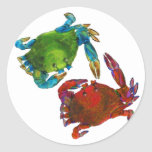 Maryland Crabs Before and After Sticker