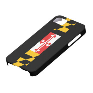 Maryland Flag 5s iPhone 5 Covers