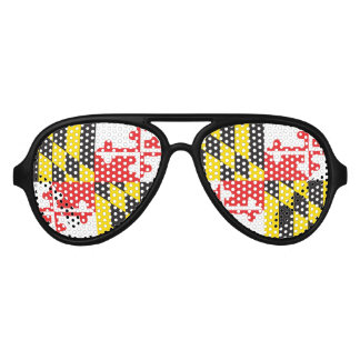 Maryland Flag Aviator Sunglasses