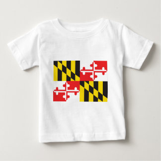 Maryland Flag Baby T-Shirt