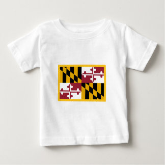 Maryland Flag Baby T-Shirt