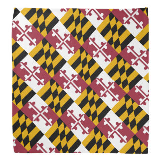 Maryland Flag Bandana