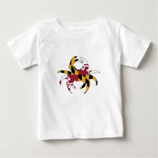 Maryland Flag Crab Baby T-Shirt