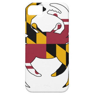 Maryland Flag Crab Case For The iPhone 5