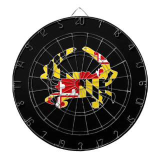 Maryland Flag Crab Dartboard