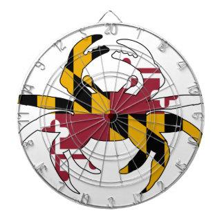 Maryland Flag Crab Dartboard