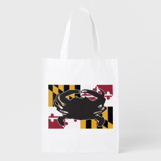 Maryland Flag/Crab reusable bag