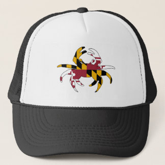 Maryland Flag Crab Trucker Hat