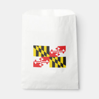 Maryland Flag Favour Bags