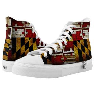 Maryland Flag High Tops