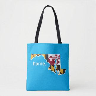 Maryland Flag home bag - blue