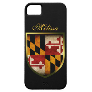 Maryland Flag iPhone 5 Cases
