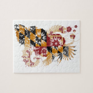 Maryland Flag Jigsaw Puzzle