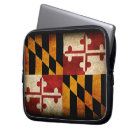 Maryland Flag Laptop Sleeve