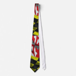 Maryland Flag (Large Print) Tie