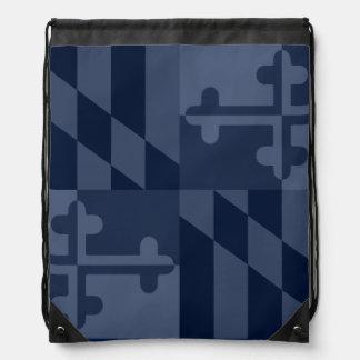 Maryland Flag Monochromatic bag - navy blue