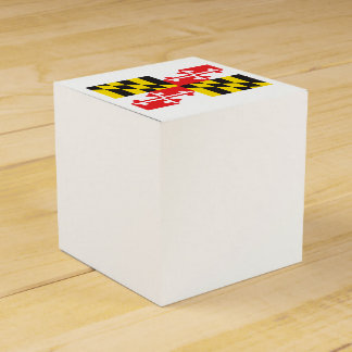 Maryland Flag Party Favour Box