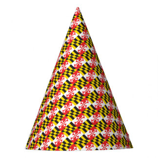 Maryland Flag Party Hat