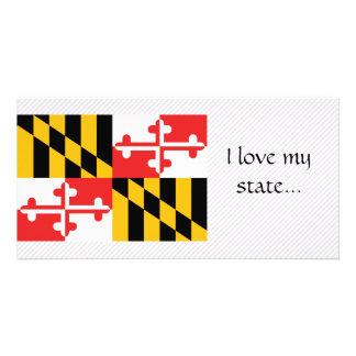Maryland Flag Photo Greeting Card