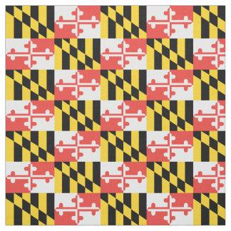 "Maryland Flag Pima Cotton (54"" width) Fabric"