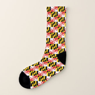 Maryland Flag Socks - Men's and Women's 1