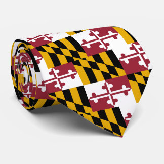 Maryland Flag Tie