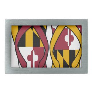 Maryland Flip Flops Belt Buckle