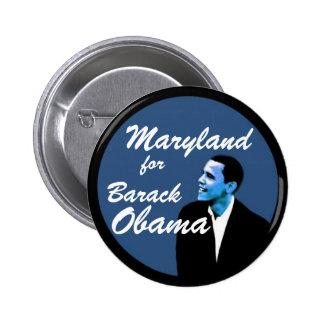 Maryland for Barack Obama 6 Cm Round Badge