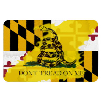 Maryland Gadsden Flag Magnet