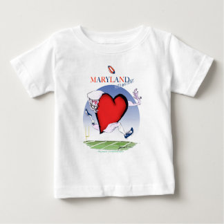 maryland head heart, tony fernandes baby T-Shirt