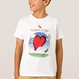 maryland head heart, tony fernandes T-Shirt