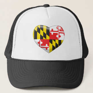 Maryland Heart Trucker Hat
