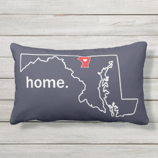 Maryland Home County pillow - Carroll co.