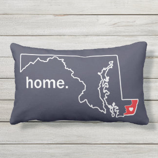 Maryland Home County pillow - Worcester co.