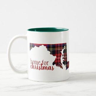 Maryland - Home for Christmas Mug