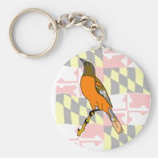 Maryland Key Ring