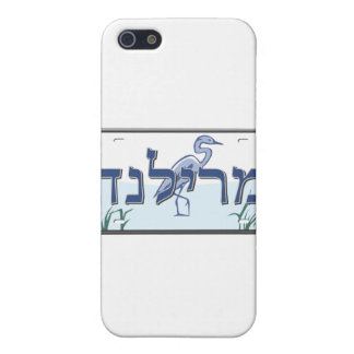 Maryland License Plate in Hebrew iPhone 5 Cases