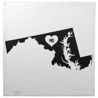Maryland Love Napkin