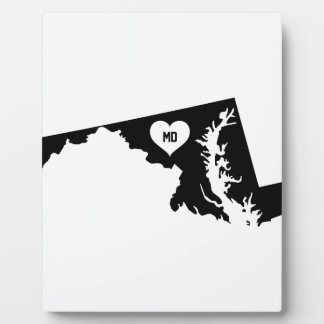 Maryland Love Plaque